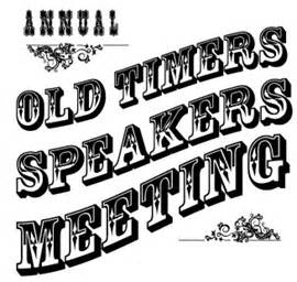 Old-Timers Afternoon Speaker Meeting @ New York Hilton Hotel | New York | New York | United States